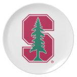 "Cardinal Block ""S"" with Tree Plate"