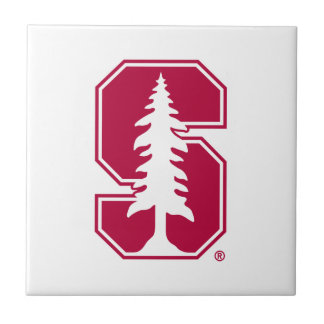 """Cardinal Block """"S"""" with Tree Small Square Tile"""