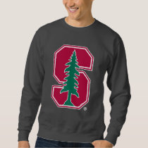 "Cardinal Block ""S"" with Tree Sweatshirt"