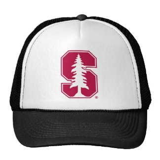 "Cardinal Block ""S"" with Tree Trucker Hat"