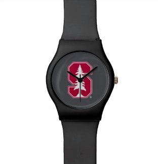 """Cardinal Block """"S"""" with Tree Wristwatches"""