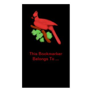 Cardinal Bookmarker-Customizable Business Card