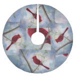 Cardinal Brushed Polyester Tree Skirt