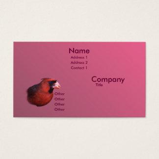 Cardinal Business Card