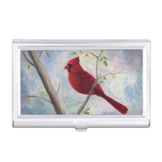 Cardinal Business Card Case