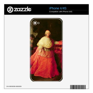 Cardinal Carlos de Borja, c.1721 (oil on canvas) Skins For The iPhone 4