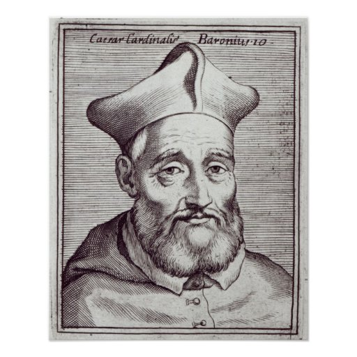 Cardinal Cesare Baronio Poster