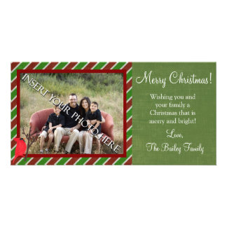 Cardinal Christmas Photo Card