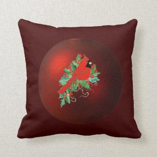 Cardinal Christmas Pillow