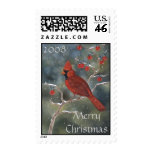Cardinal Christmas Stamp