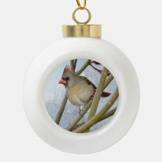 Cardinal Christmas Tree Ornament
