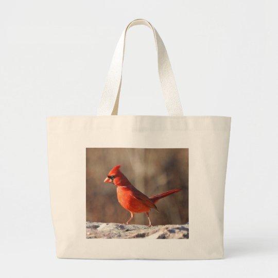 Cardinal closeup - bag