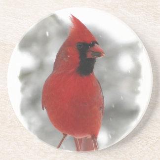 Cardinal Drink Coaster
