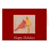 Cardinal Couple Card