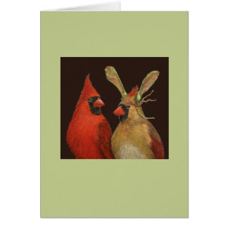 cardinal couple card