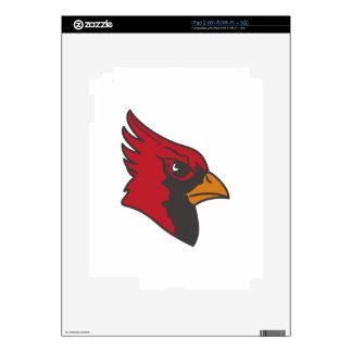 Cardinal Decal For The iPad 2