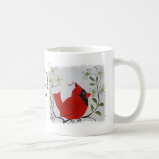 Cardinal & Dogwood Coffee Mug