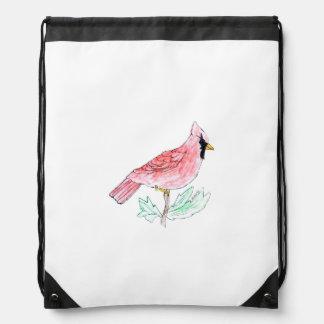 Cardinal Drawstring Backpack