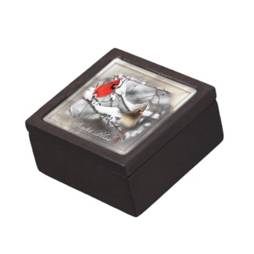 Cardinal Duo Winter Bliss Premium Gift Box planetjillgiftbox