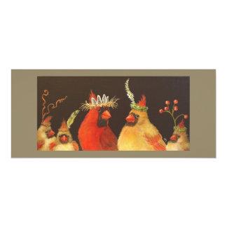 Cardinal Family flat card