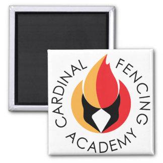 Cardinal Fencing Academy Logo Magnet