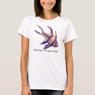 Cardinal Fish- Nothings Swimpossible T-Shirt