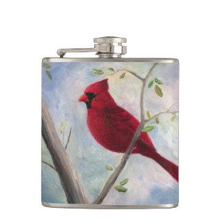 Cardinal Hip Flasks