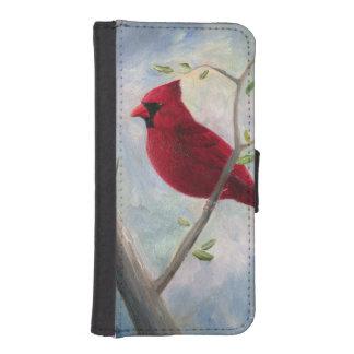 Cardinal Funda Tipo Billetera Para iPhone 5