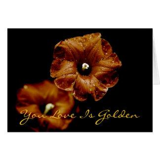 Cardinal Gold, You Love Is Golden Card