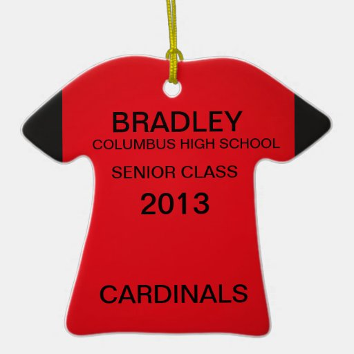 Cardinal Graduate ornament