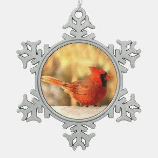 Cardinal in Autumn Ornament