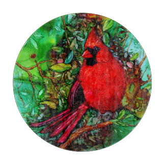 Cardinal In the Tree Cutting Board