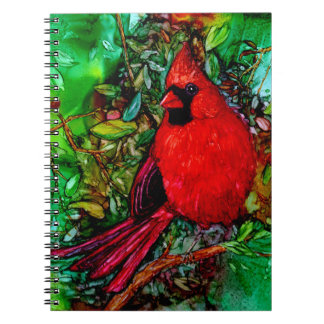 Cardinal In the Tree Notebook