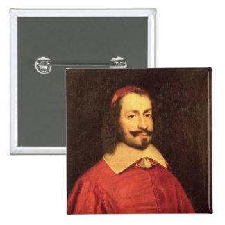 Cardinal Jules Mazarin 2 Inch Square Button