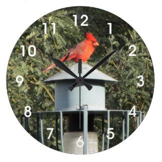 Cardinal Large Clock