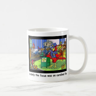 Cardinal Law Funny Law Cartoon Gifts & Collectible Classic White Coffee Mug