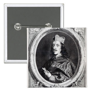 Cardinal Leopoldo de' Medici 2 Inch Square Button