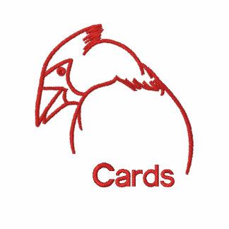 Cardinal Line Drawing Polo