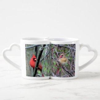 Cardinal Lovers' Mug