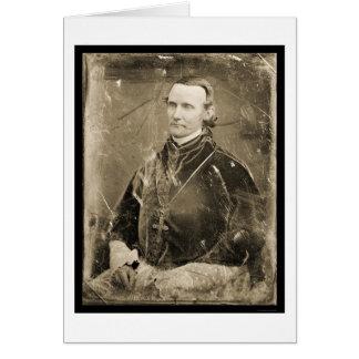 Cardinal McCloskey Daguerreotype 1852 Card