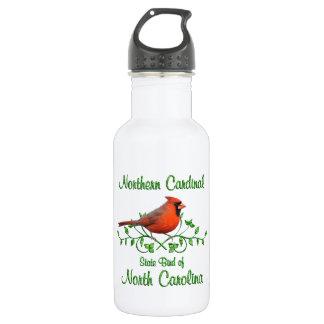 Cardinal North Carolina Bird 18oz Water Bottle