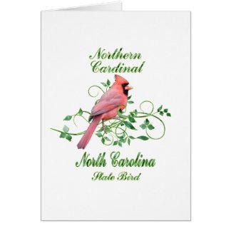 Cardinal North Carolina State Bird Greeting Card
