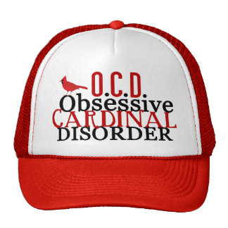 Cardinal Obsessed Hat