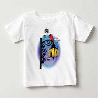 Cardinal on a Lamppost Baby T-Shirt