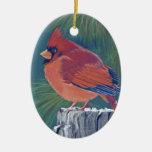 Cardinal Ornaments Para Arbol De Navidad