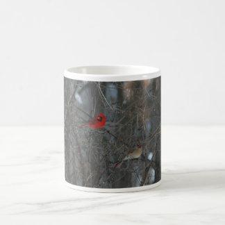 Cardinal Pair Coffee Mug
