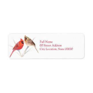 Cardinal pair label