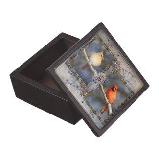 Cardinal Pair Premium Gift Box planetjillgiftbox