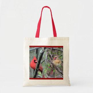 Cardinal Pair Tote bag