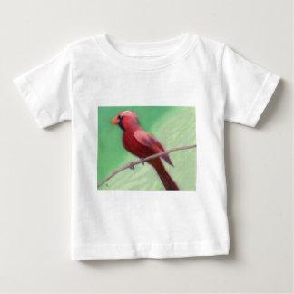 Cardinal Perched Baby T-Shirt